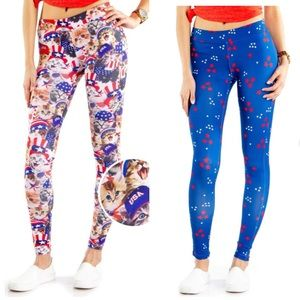 Tipsy Elves 4th of July Independence Day leggings